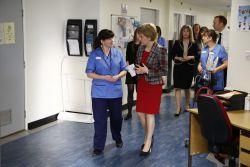 Nicola Sturgeon. Photo: First Minister of Scotland