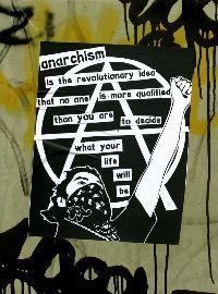 Anarchism poster. Foto: Akbar Sim
