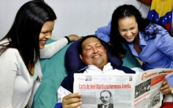 chavez back to venezuela